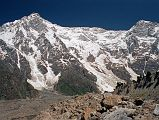 Nanga Parbat Rupal Face And Rakhiot Peak From Bazhin Glacier Just Past Rupal Face Base Camp